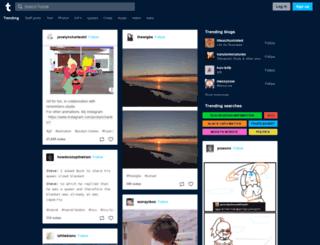 oscar-t.tumblr.com screenshot