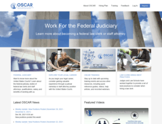 oscar.uscourts.gov screenshot