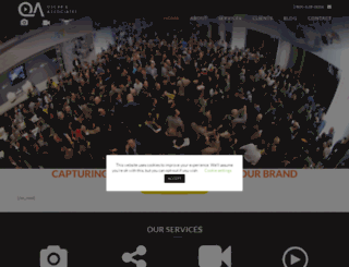 oscarandassociates.com screenshot