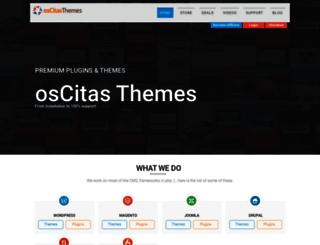 oscitasthemes.com screenshot