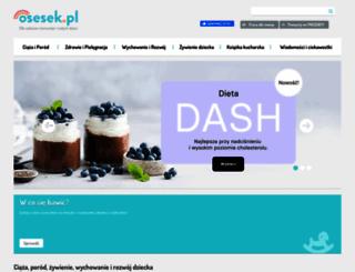 osesek.pl screenshot