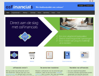 osfinancials.org screenshot