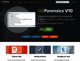 osforensics.com screenshot