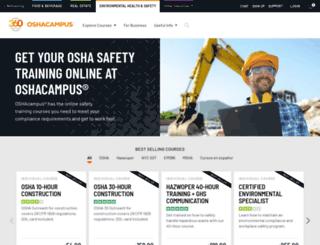 oshacampus.com screenshot