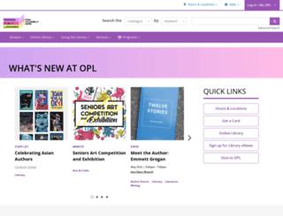 oshawalibrary.on.ca screenshot