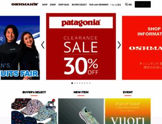 oshmans.co.jp screenshot