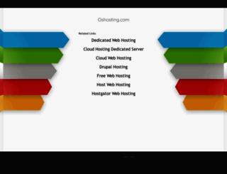 oshosting.com screenshot