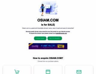 osiam.com screenshot