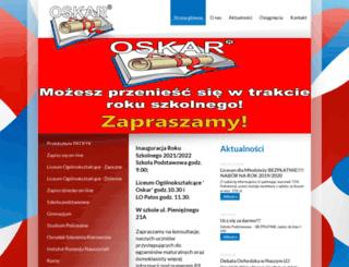 oskar.olsztyn.pl screenshot