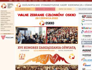 oskko.edu.pl screenshot