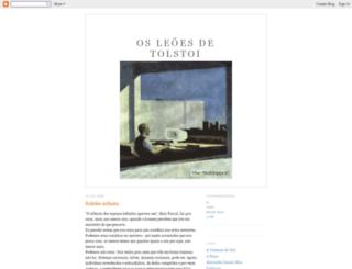 osleoesdetolstoi.blogspot.com screenshot