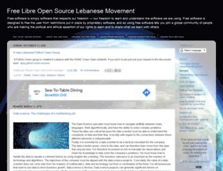 oslm.cofares.net screenshot