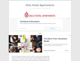 oslohotelapartments.com screenshot