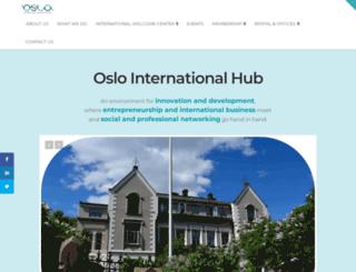oslointernationalhub.com screenshot