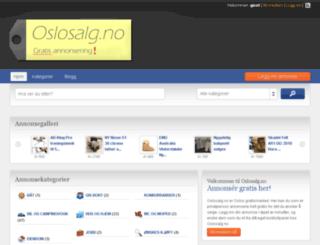 oslosalg.no screenshot