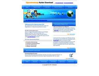 osm-download.de screenshot