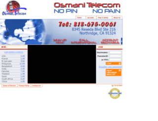 osmanitelecom.com screenshot
