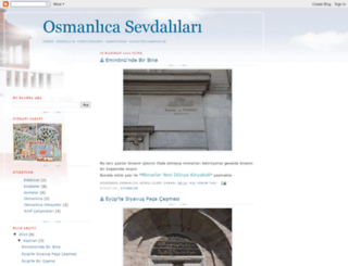 osmanlicaismek.blogspot.com screenshot