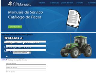 osmanuais.com.br screenshot