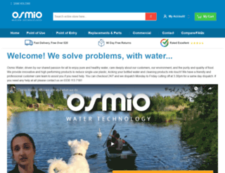 osmiowater.co.uk screenshot