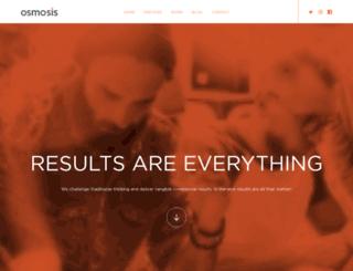 osmosis.co.uk screenshot