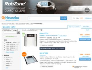 osobni-vahy.heureka.cz screenshot