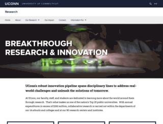 osp.uconn.edu screenshot