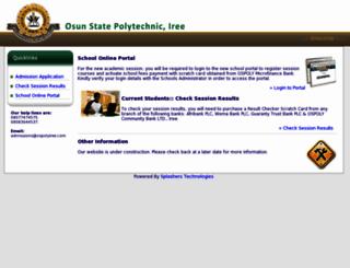 ospolyiree.com screenshot