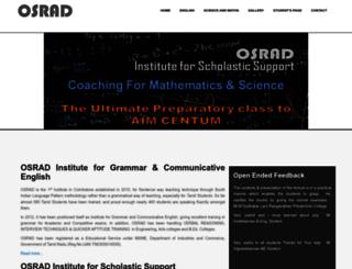 osrad.in screenshot