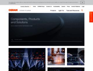 osram.com screenshot