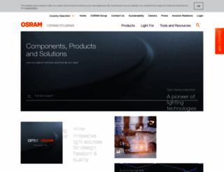 osram.info screenshot