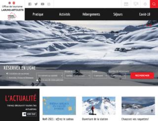 ossau-pyrenees.com screenshot