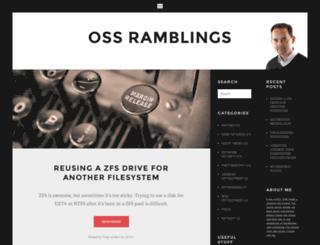 ossramblings.com screenshot