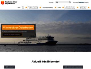 osterbotten.fi screenshot