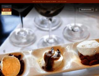 osteriamozza.com screenshot