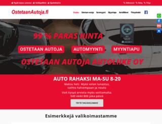 ostetaanautoja.fi screenshot