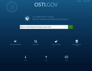 osti.gov screenshot