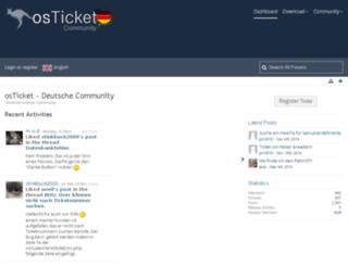 osticket-community.de screenshot