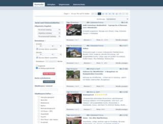 ostsee-ferienkatalog.de screenshot