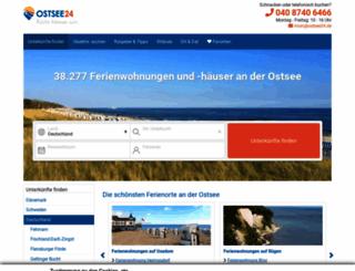 ostsee24.de screenshot