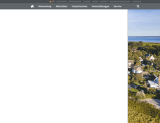 ostseebad-ahrenshoop.de screenshot