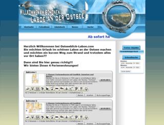 ostseeblick-laboe.com screenshot