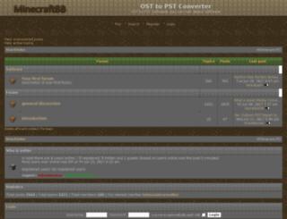 osttopstsoftware.forumbuild.com screenshot