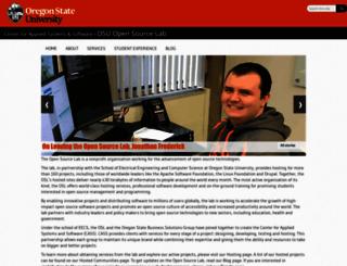 osuosl.org screenshot