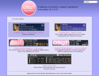 osusig.ppy.sh screenshot