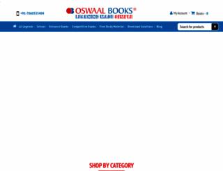 oswaalbooks.com screenshot