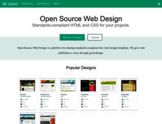 oswd.org screenshot