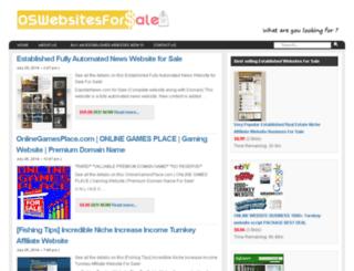 oswebsitesforsale.com screenshot