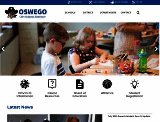 oswego.org screenshot