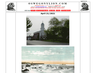oswegonylion.com screenshot